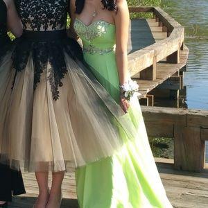 Caché Lime Green Dress